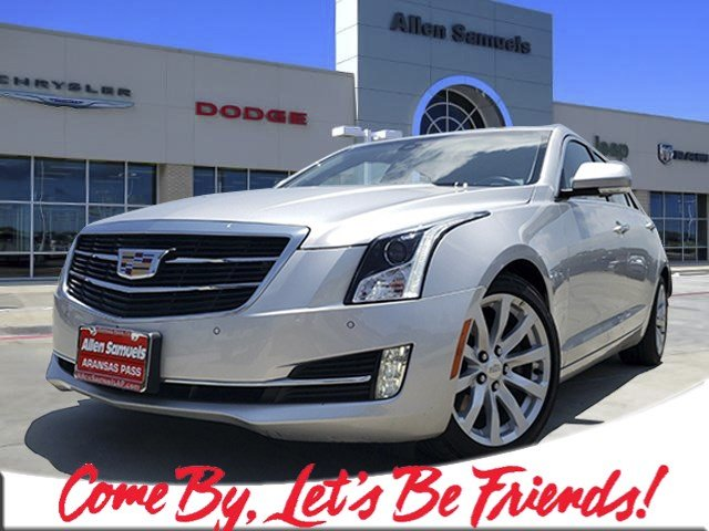 Cadillac Ats Sedan >> Pre Owned 2018 Cadillac Ats Sedan Premium Luxury Rwd Rwd 4dr Car