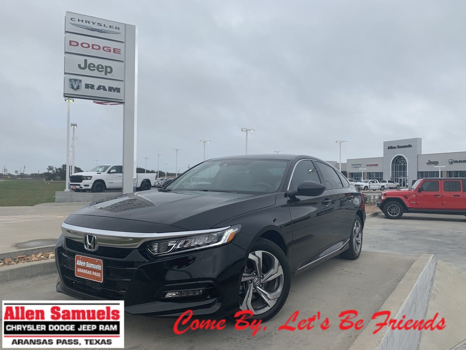 Pre-Owned 2018 Honda Accord Sedan EX 1.5T