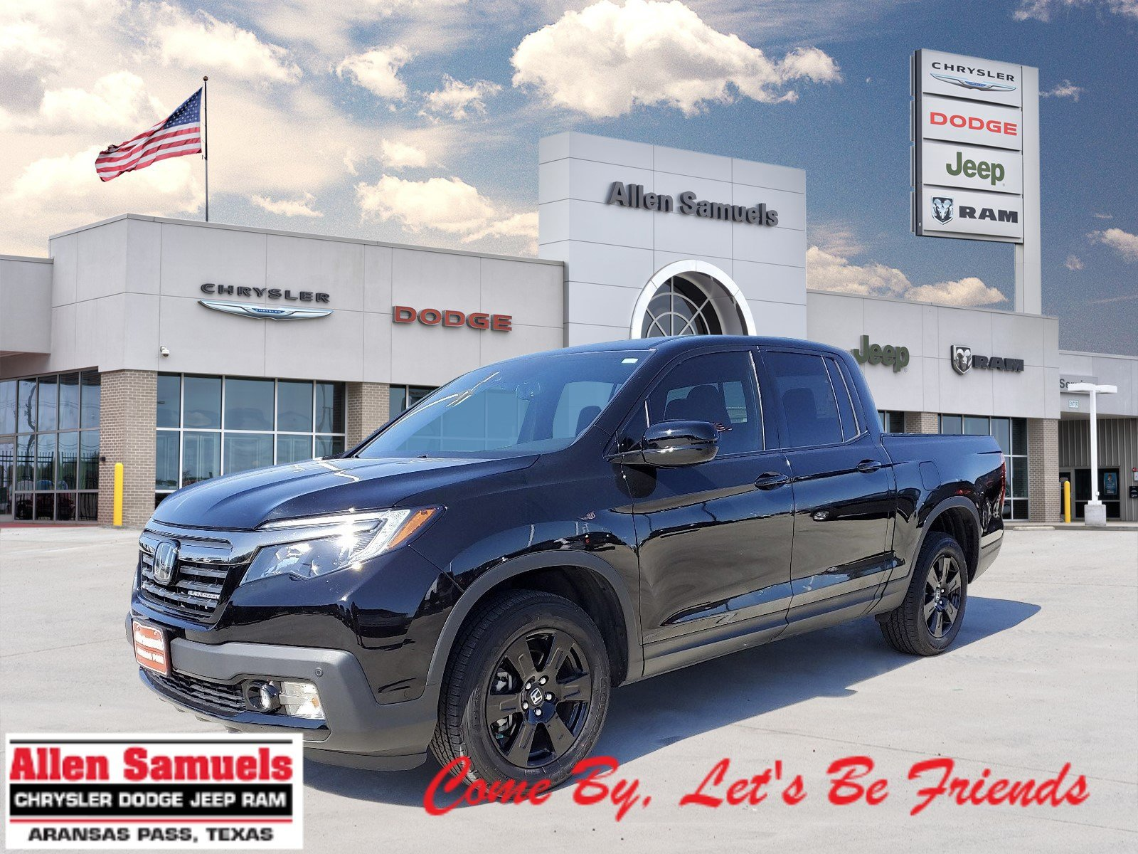 Pre-Owned 2019 Honda Ridgeline Black Edition