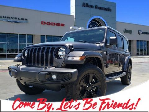 New 2019 JEEP Wrangler Sahara Altitude