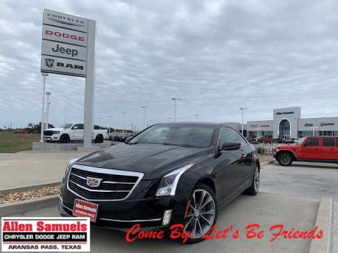 Pre-Owned 2015 Cadillac ATS Coupe Premium AWD